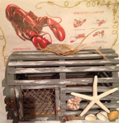 decorative wooden lobster trap 25 best ideas about lobster trap on driftwood