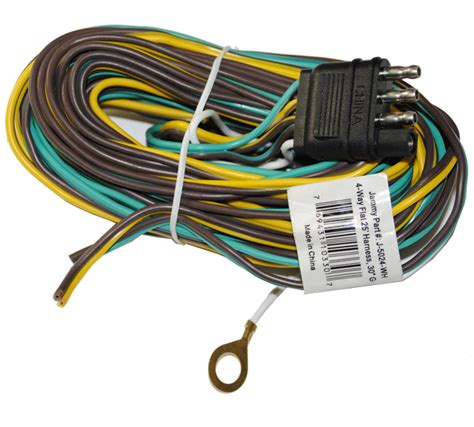 Wishbone Wire Harnes by 4 Way Flat Wishbone Wire Harness For Trailers By Jammy