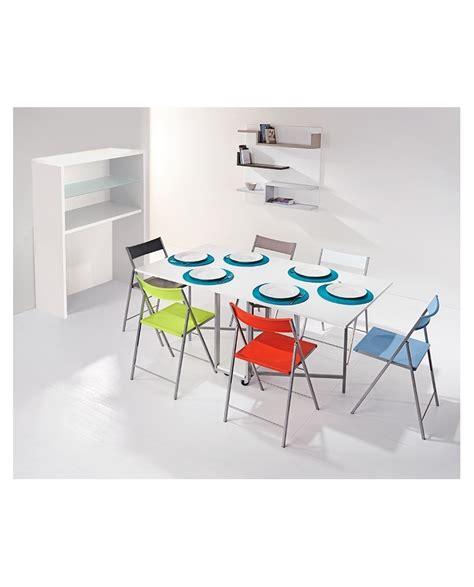 table de cuisine pliante avec chaises table pliante avec chaises integrees 28 images table
