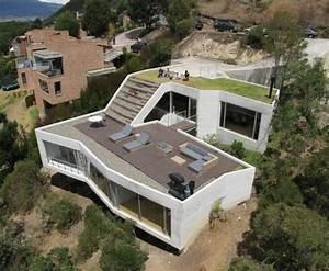 Kubus Haus Mit Dachterrasse Ein Schlanker Kubus Mit Flachdach Und