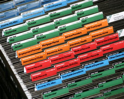 organizing files freedomfiler how to organize tax papers spark productivityspark productivity