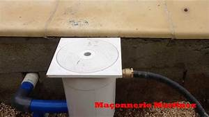 comment installer un regulateur de niveau eau pour piscine With comment installer une piscine hors sol 7 pose filtration piscine maconnerie martinez youtube