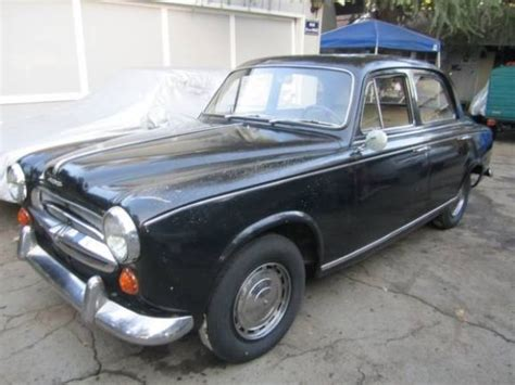 Peugeot 403 For Sale by Cheap 1961 Peugeot 403 Project Bring A Trailer