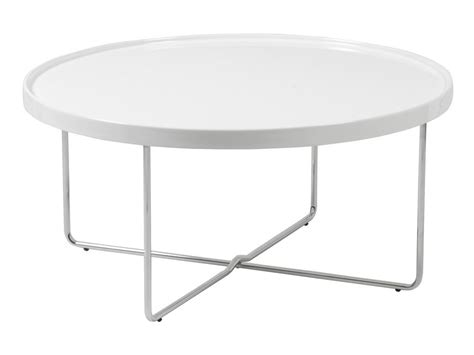 White Circle Coffee Tables