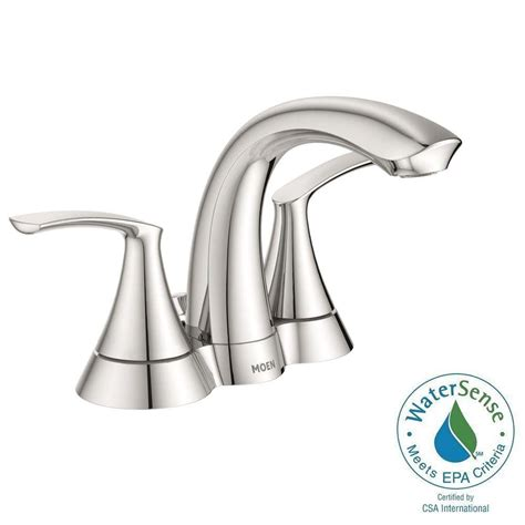 Moen Darcy Faucet 84550srn by Moen Darcy 4 In Centerset 2 Handle Bathroom Faucet In