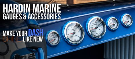 Best Boat Gauges by Hardin Marine Performance Products Performance Marine