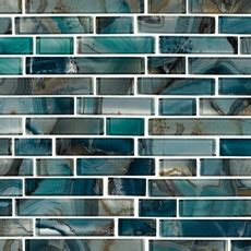 Montage Harbour Island Polished Linear Mosaic - 12in. x
