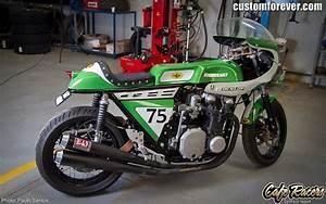 Racing Caf U00e8  Kawasaki Z 1000 R  U0026quot Caf U00e8 Racer U0026quot  By Hugo Caetanito