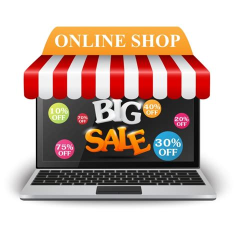 shopping background vector premium