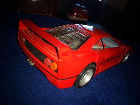 Here we have for sale a ferrari f40 art 150 detailcars collection 1:43 scale model with the approval of ferrari condition is brilliant , no major issue some slight scratches to the clear case please study the pictures as part of description would be a perfect item for your collection , or. Diecast model Ferrari F40 1/24 Franklin Mint