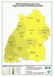 Regionale Unterschiede Der Landschaftszerschneidung In