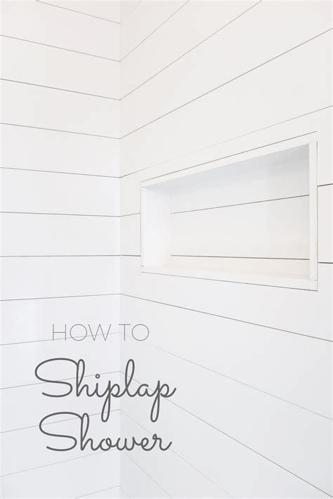 install shiplap   shower    coolest