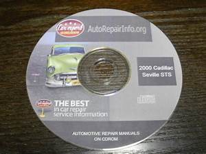 Purchase Shop Manual On Cd Rom 2000 Cadillac Seville Sts