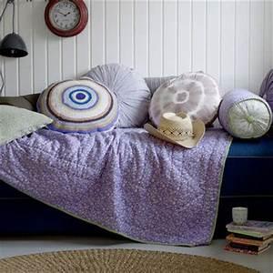 mettre en valeur mon vieux canape avec des plaids With tapis exterieur avec plaid lin canapé