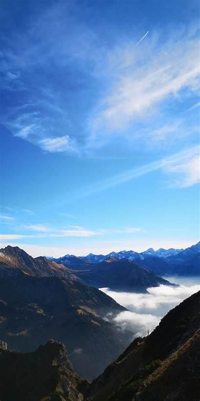 Sunny Hiking Mountains Iphone Scenery Mountain Wallpapersmug