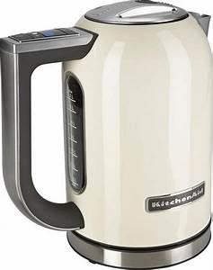 Wasserkocher Kitchen Aid : kitchenaid wasserkocher 5kek1722eac 1 7 liter 2400 watt cr me online kaufen otto ~ Yasmunasinghe.com Haus und Dekorationen