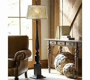 ellis floor lamp base pottery barn With pottery barn floor reading lamp