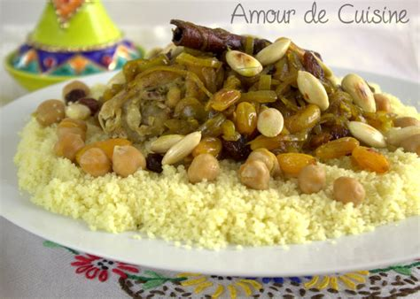 cuisine du monde facile couscous tfaya cuisine marocaine amour de cuisine