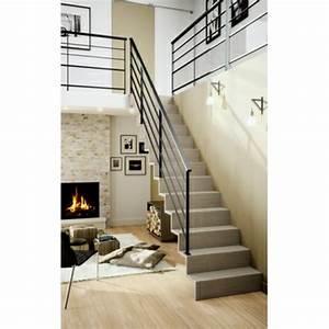escalier droit leroy merlin montage escaliermp with With escalier metallique exterieur leroy merlin 2 escalier droit escatwin structure aluminium marche verre