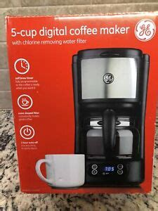 $37.99 3 used & new from $29.99. GE 5 Cup Digital Coffee Maker Model 169208 Brand New In Box | eBay