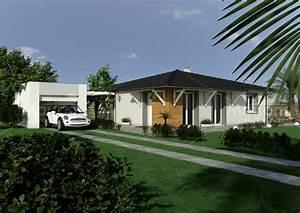 Exposition Soleil Maison : modele maison bois contemporaine ~ Premium-room.com Idées de Décoration