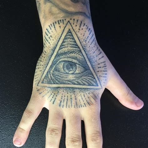 mysterious illuminati tattoo designs enlighten