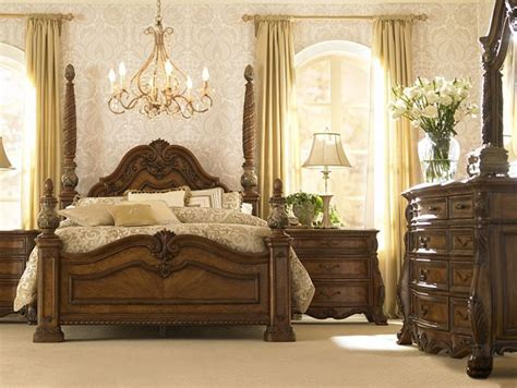 King Bedroom Sets Havertys by Bedroom Furniture Villa Clare King Poster Bed Havertys