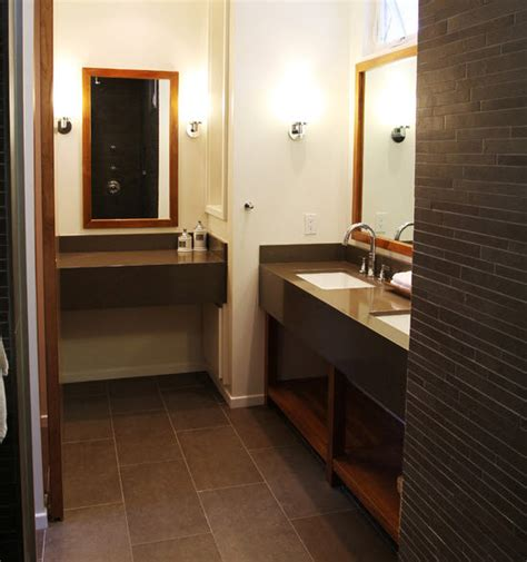 Chocolate Brown Bathroom Ideas by 37 Chocolate Brown Bathroom Floor Tiles Ideas And Pictures