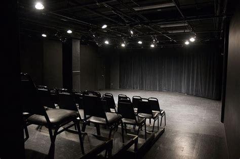 small intimate black box  staging theatre