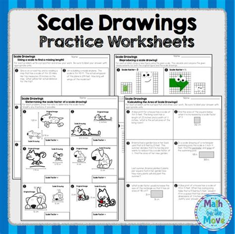 7th Grade Math Scale Factor Worksheets  Scale Factor And Dimensional Changes Worksheet Answers