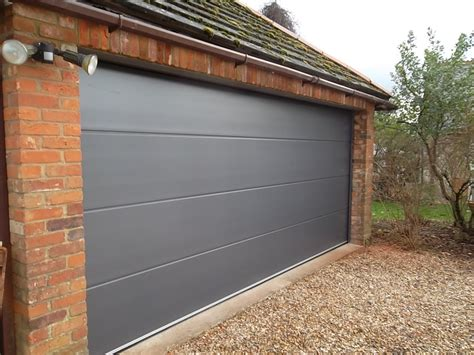 carteck double sectional garage door esher surrey
