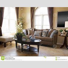Beautiful Modern Interor Decor Stock Image  Image Of