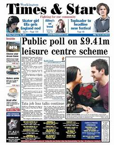 West Cumberland Times & Star makes broadsheet to compact ...