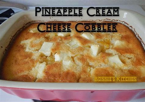 Pineapple Cream Cheese Cobbler | KeepRecipes: Your