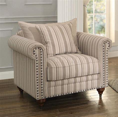 hadleyville sofa striped  homelegance