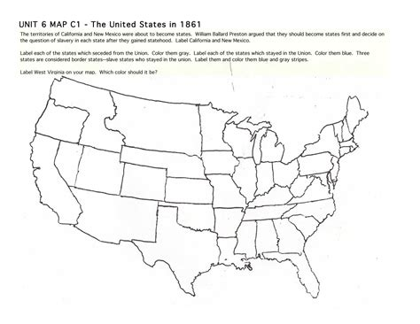 best photos of blank us map 1861 blank us map civil war