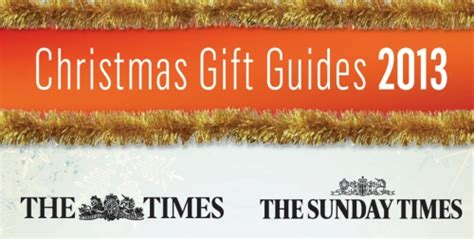 advertise in the times sunday times christmas gift guide