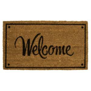 Welcome Mat by Coir Welcome Mat