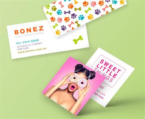 Square & Mini Business Cards