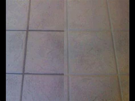 clean tile floors tile  grout  color seal