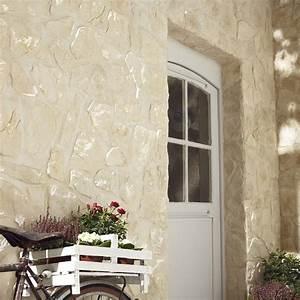 Plaquette De Parement Exterieur : plaquette de parement b ton beige piemont leroy merlin ~ Dailycaller-alerts.com Idées de Décoration