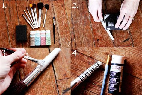 Custom Makeup Brush DIY Project   A Beautiful Mess