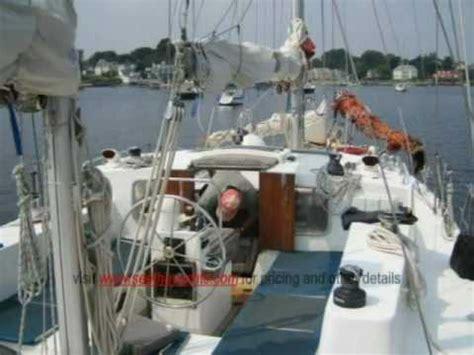 bruce roberts steel ketch boat  sale youtube