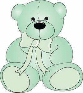 Free Teddy Bear Clipart Image 0515-0907-1703-0740 | Baby ...
