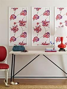 design d39interieur style avec le tableau triptyque With chambre bébé design avec tableau avec fleurs