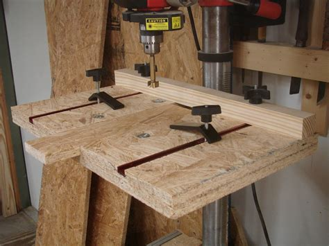 build  great drill press work station artistic wood products