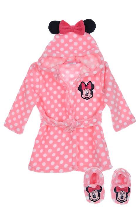robe de chambre pour fille robe de chambre et chaussons bébé fille minnie 24 99
