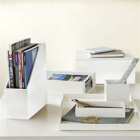 white wood desk accessories modern office accessories