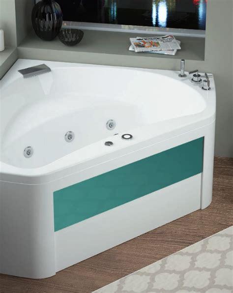 baignoire d angle 140x140 syst 233 me star eau avec tablier bi