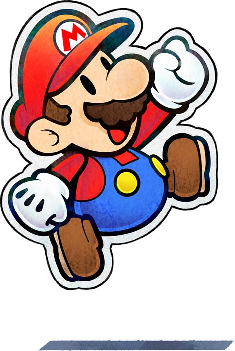 Paper Mario Character Super Mario Wiki The Mario